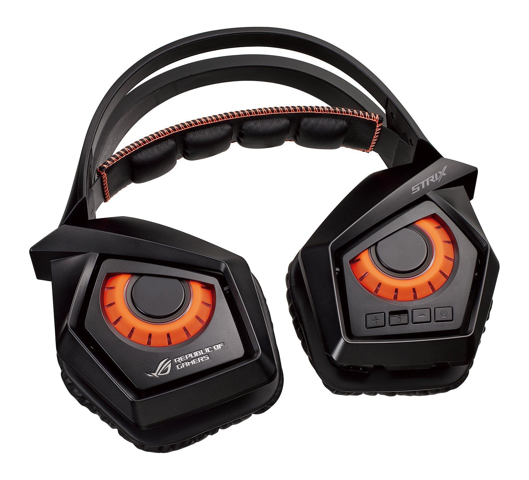 Auriculares Gamer : Asus Rog Strix Wireless Headphone (rog