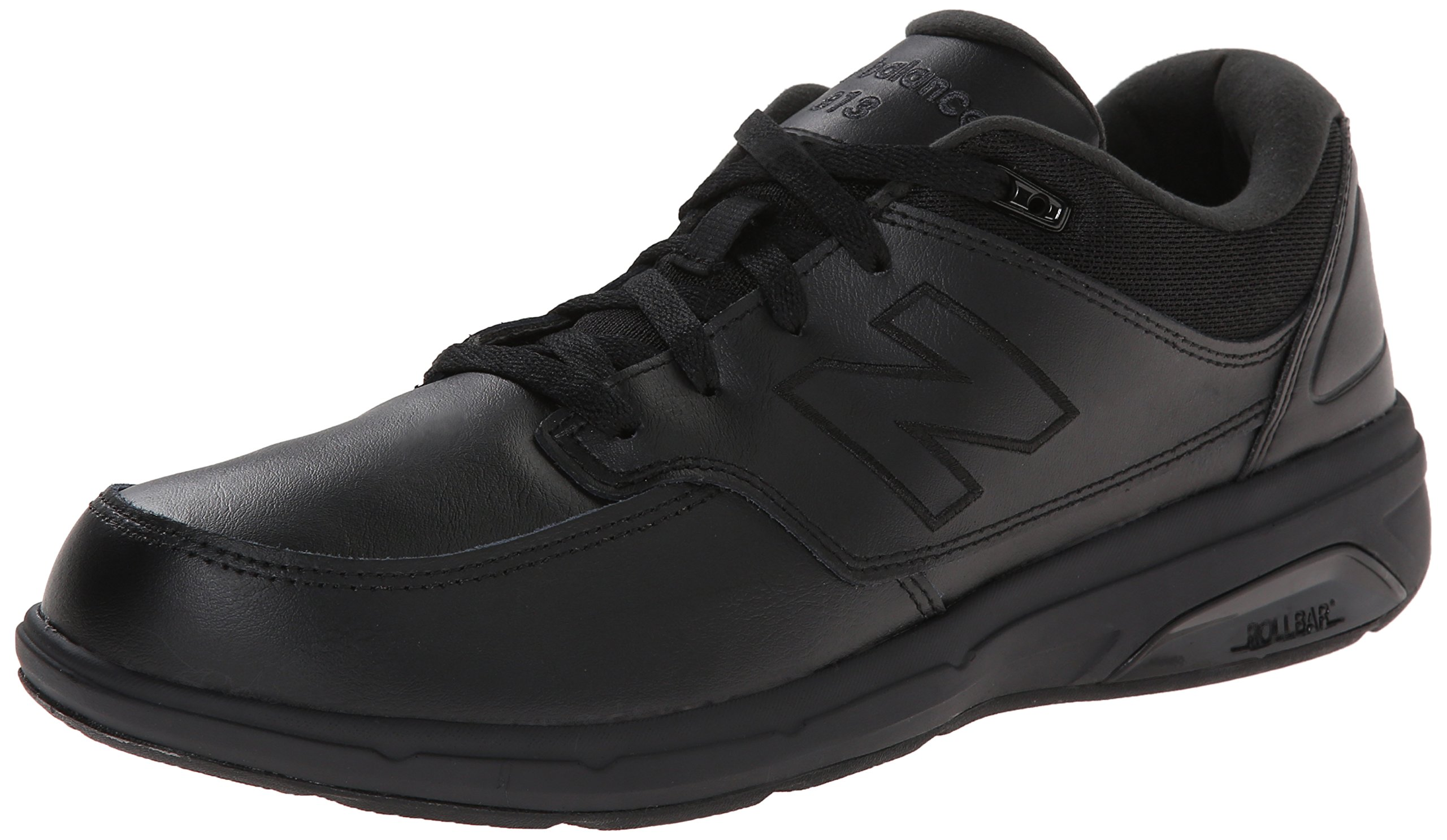 New Balance Men's MW813BK Walking Shoe-M Walking Shoe, Black, 10.5 D US by New Balance
