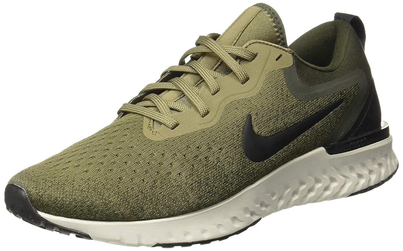 MultiCouleure (Medium Olive  noir  Sequoia  Light argent 200) Nike Odyssey React, Chaussures d'Athlétisme Homme 43 EU