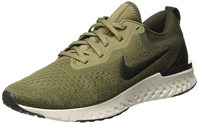 Nike Men's Odyssey React Medium Olive/Black Running Shoes Men's Running Shoes at amazon
