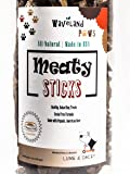 Waveland Paws Organic Dog Treats Made in USA | Gluten Free | Grain Free | Training Jerky | 10oz Pkg by