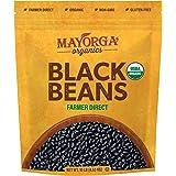 Organic Dry Black Beans by Mayorga, USDA Organic Certified, Gluten-Free, Non-GMO Verified, Direct Trade, Kosher, Frijoles Neg