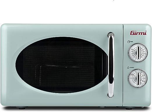 Girmi FM21 - Horno de microondas con diseño vintage, 20 litros ...