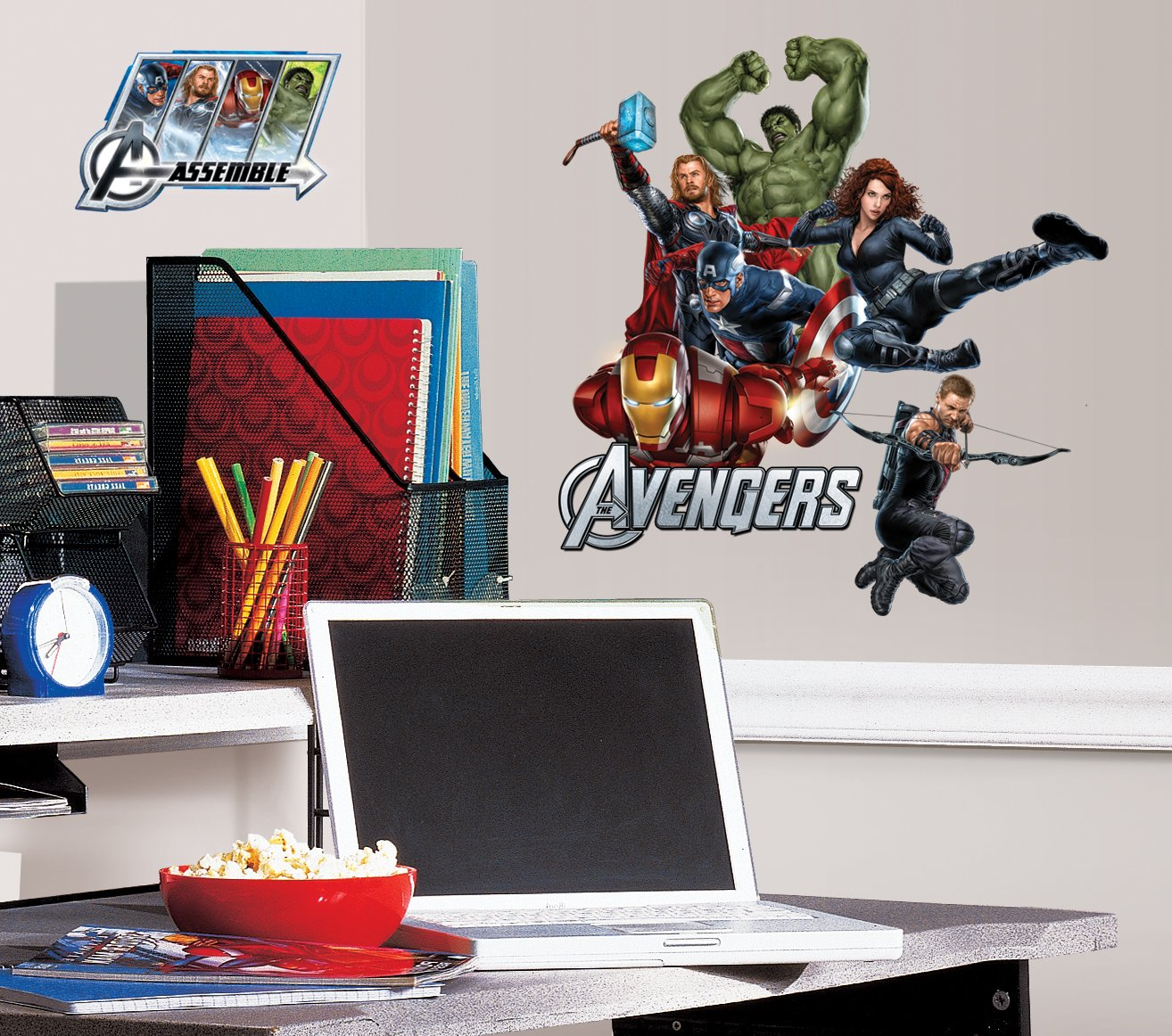 RoomMates RMK1741SCS Avengers Peel And Stick Wall Decals   Decorative Wall  Appliques   Amazon.com Part 65