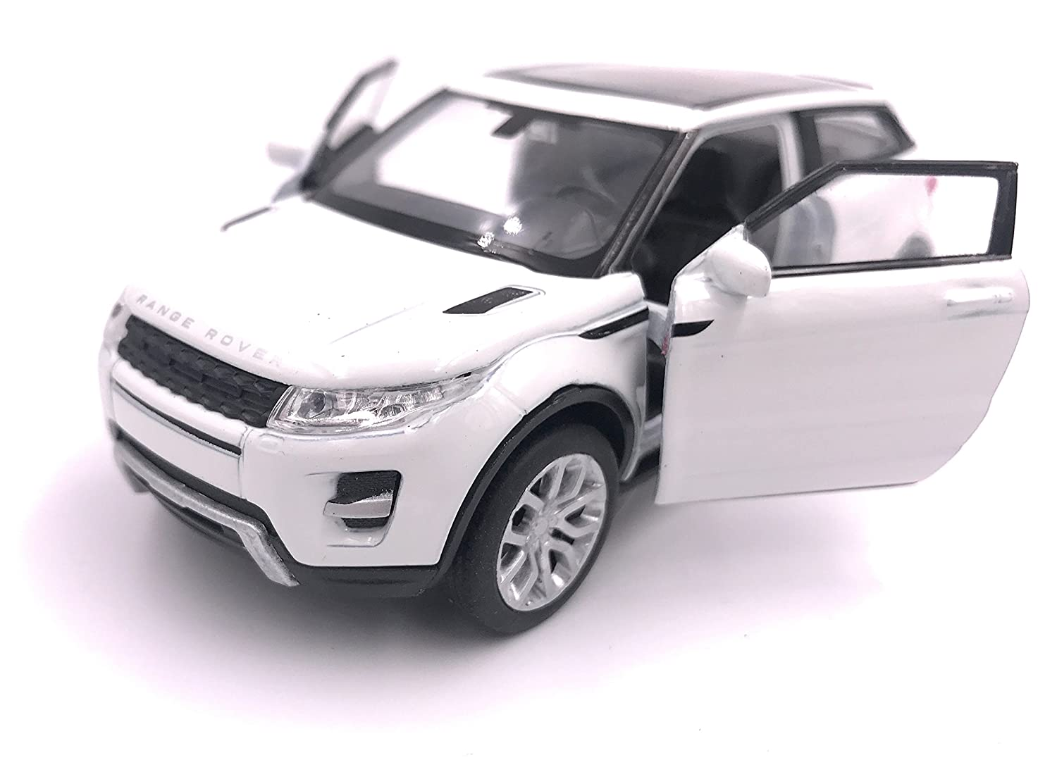 H-Customs Bilancia per Auto Modello Welly Range Rover Evoque Model 1:34 Colore Casuale hcmrrevoqueblister