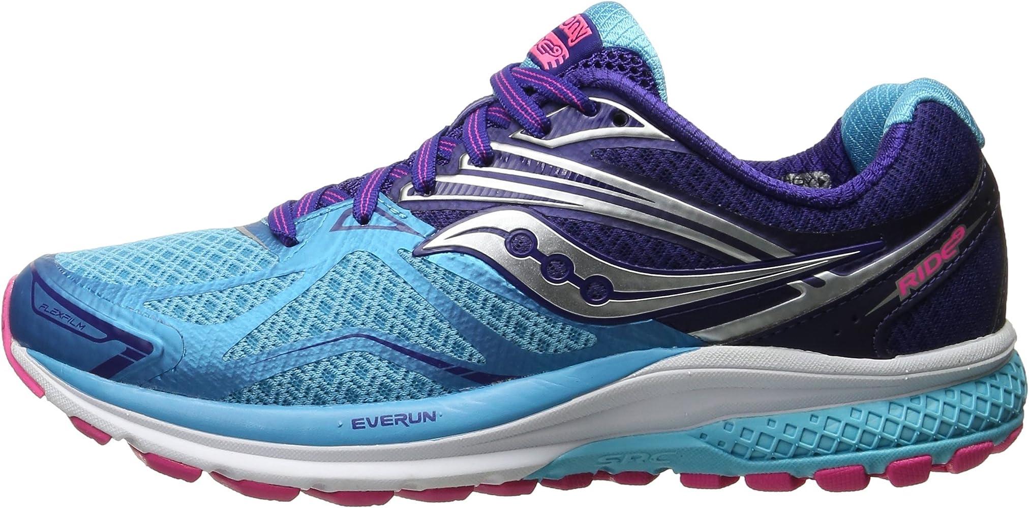 Saucony Ride 9 - Zapatillas de Entrenamiento Mujer,Color Azul ...