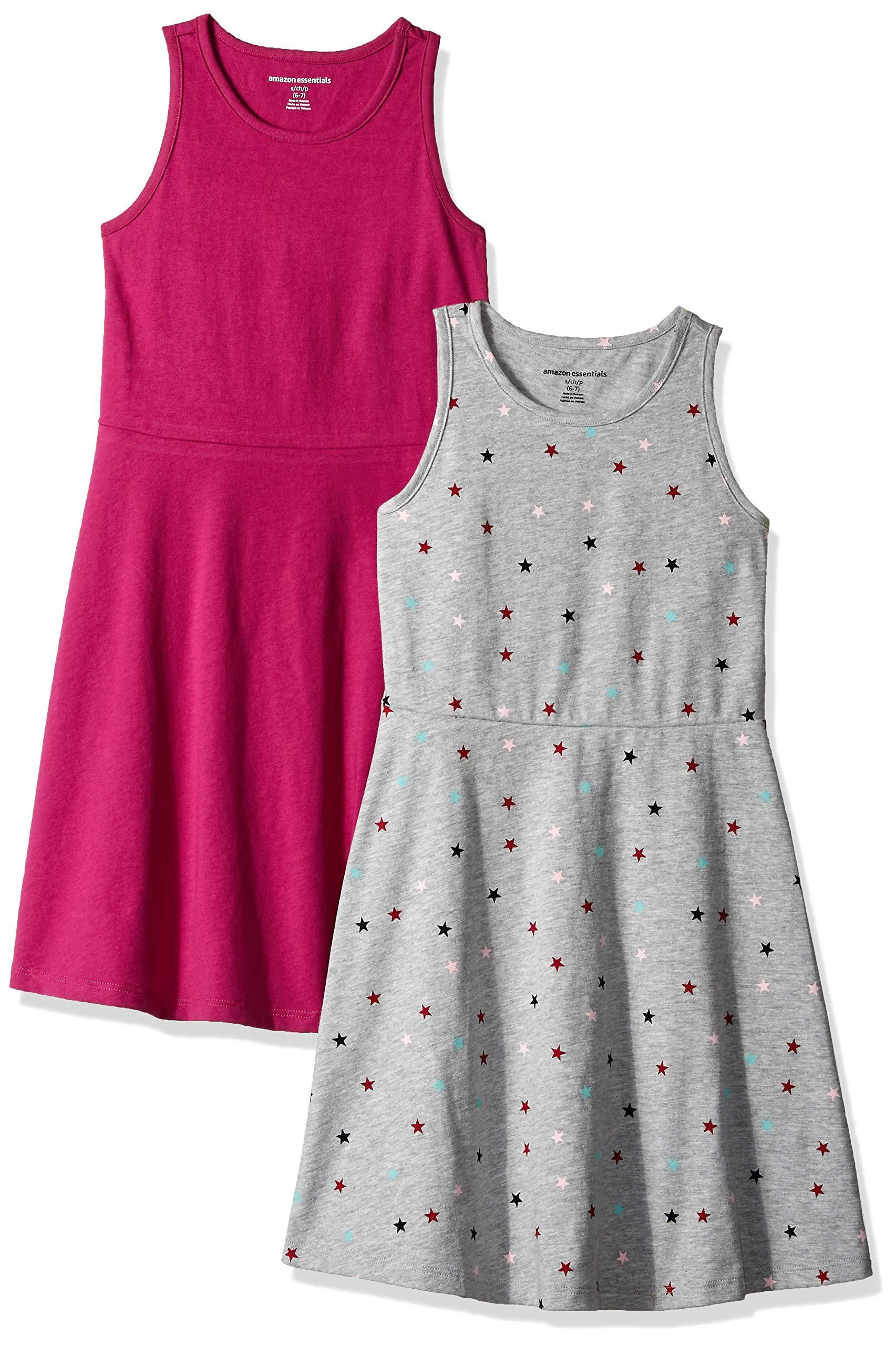 Essentials Girls 2-Pack Tank Dress