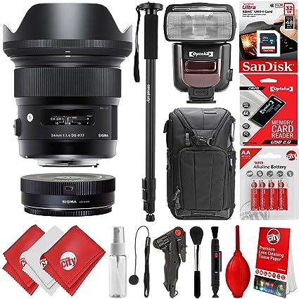 Sigma F1.4 Art DG HSM - Lente para cámaras réflex Nikon F y DSLR ...