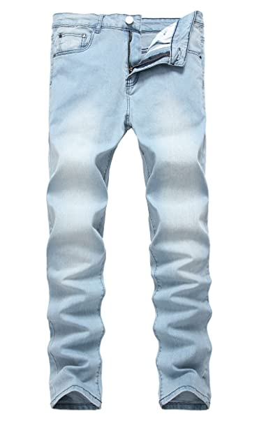 NITAGUT Mens Ripped Skinny Destroyed Slim fit Jeans Pants with Holes