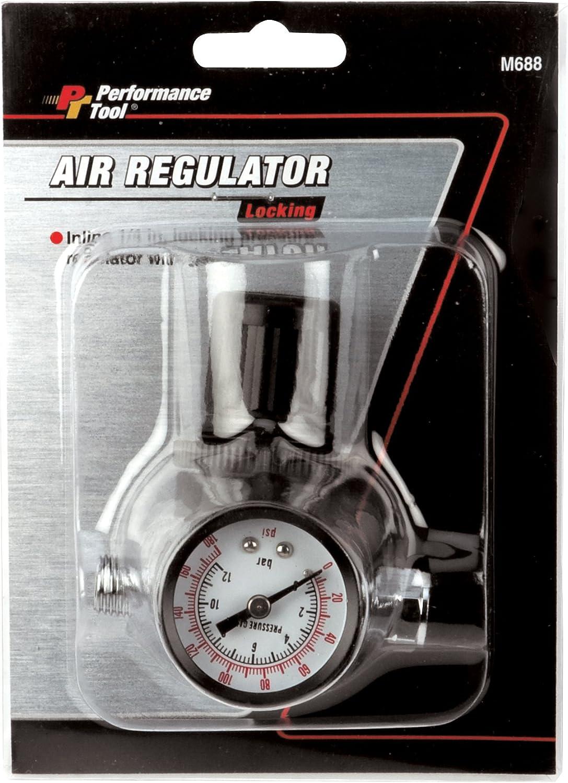 Performance Tool M693 Air Regulator with Gauge