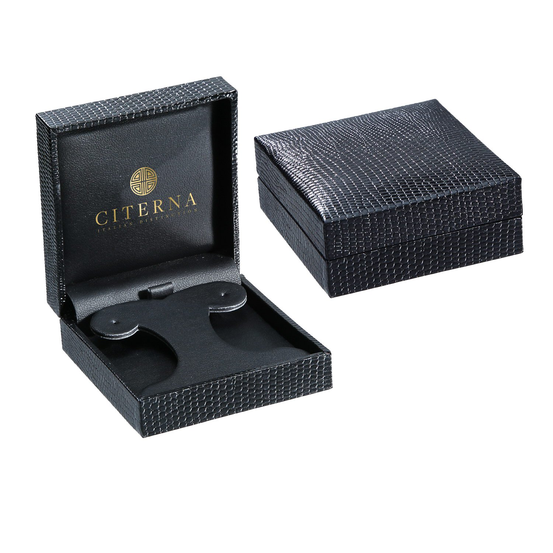 Citerna Triple Diamond Cut Chiseled Teardrop 9 ct Yellow Gold Large Drop Earrings dq1538u2