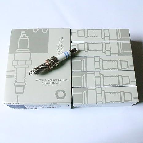 4 pcs Bujía a0041596403 un 004 159 64 03 z6sii3320 Sparking Plug para Mercedes-Benz
