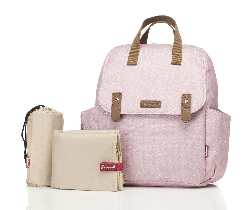 Babymel Robyn Backpack Dusky Pink 5060521022177