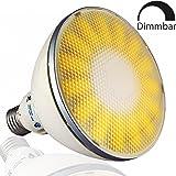 VIRIBRIGHT Spot à LED PAR 38, E27, 18W, 1100 lm, 2800K (blanc chaud), graduable