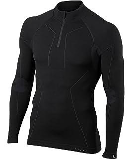 FALKE Herren Warm Trend Zip M Ls Sh Langarmshirt