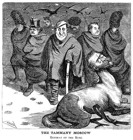 Amazon Com Tweed Cartoon 1871 Nthe Tammany Moscow Retreat
