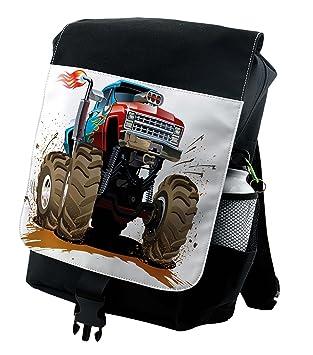 Amazon.com: Lunarable Man Cave Mochila, Monster Truck ...