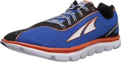 Altra A1423 Hombre Uno Cuadrado Zapatillas Running - Azul/Neón, 42 EU-: Amazon.es: Zapatos y complementos