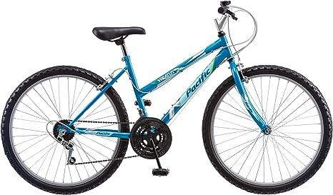 Pacific Stratus Bicicleta de montaña para Mujer, Azul, 26 Pulgadas ...