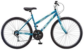 Pacific Women S Stratus Mountain Bike Blue 26 Inch