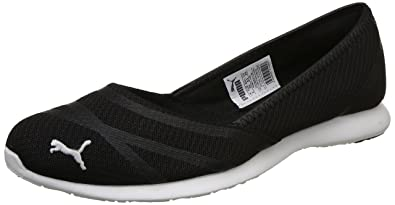 a7a39c991b48 Puma Women s Vega Ballet Sweet IdpWomen Black Sneakers-6 UK India (39 EU