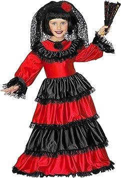 WIDMANN 55478 infantil Disfraz Dama Española, 158 , color/modelo surtido: Amazon.es: Juguetes y juegos