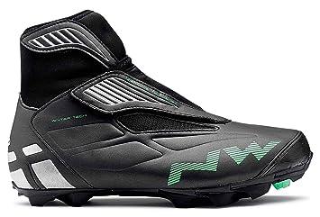 northwave Zapatos de Invierno MTB Husky SPD (44 28,6 cm): Amazon.es: Zapatos y complementos