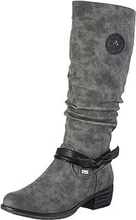 Rieker Damen Z7662 Stiefel, (Schwarz Grigio), 38 EU  Amazon.de ... baa4c3f316
