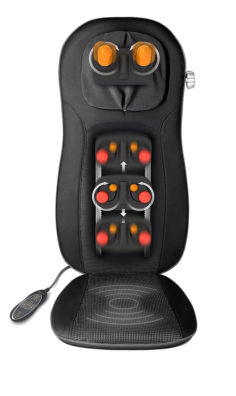 Medisana MCN Pro - Respaldo masajeador espalda shiatsu y acupresión...
