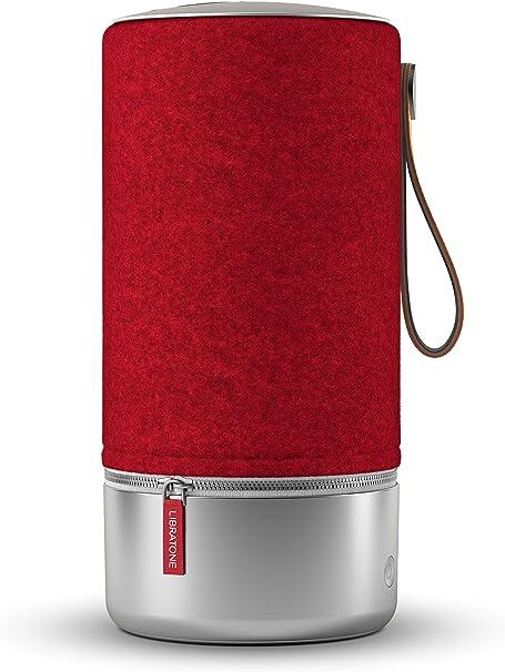Libratone Zipp Copenhagen Edition Wireless Lautsprecher 360 Sound Wlan Bluetooth Multiroom Airplay 2 Spotify Connect 10 Std Akku Raspberry Red Audio Hifi