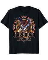 Marvel Black Panther Movie Warrior Circle Graphic T-Shirt