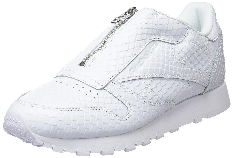Reebok Damen Classic Leather Zip Turnschuhe