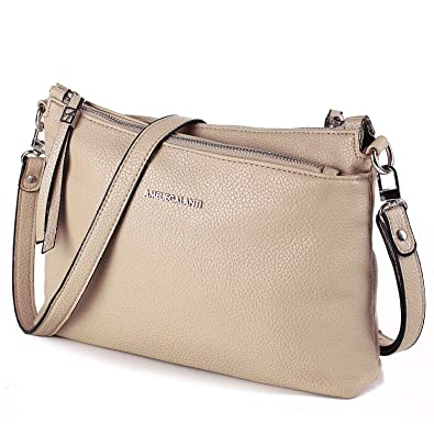 eff68eb6ed4 Image Unavailable. Image not available for. Color  Crossbody Bags for  Women, Purses and Handbags PU Leather Shoulder Bag Satchel with Adjustable  Strap