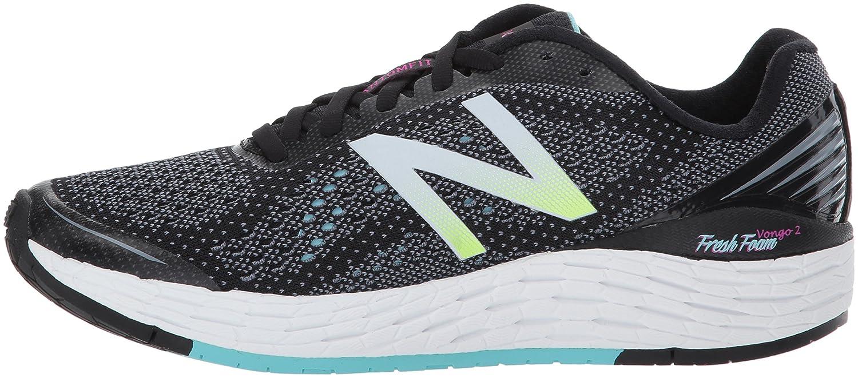 New Balance Women's VONGOV2 Running-Shoes B01N0GJ3W2 9 D US|Black/Sea Spray