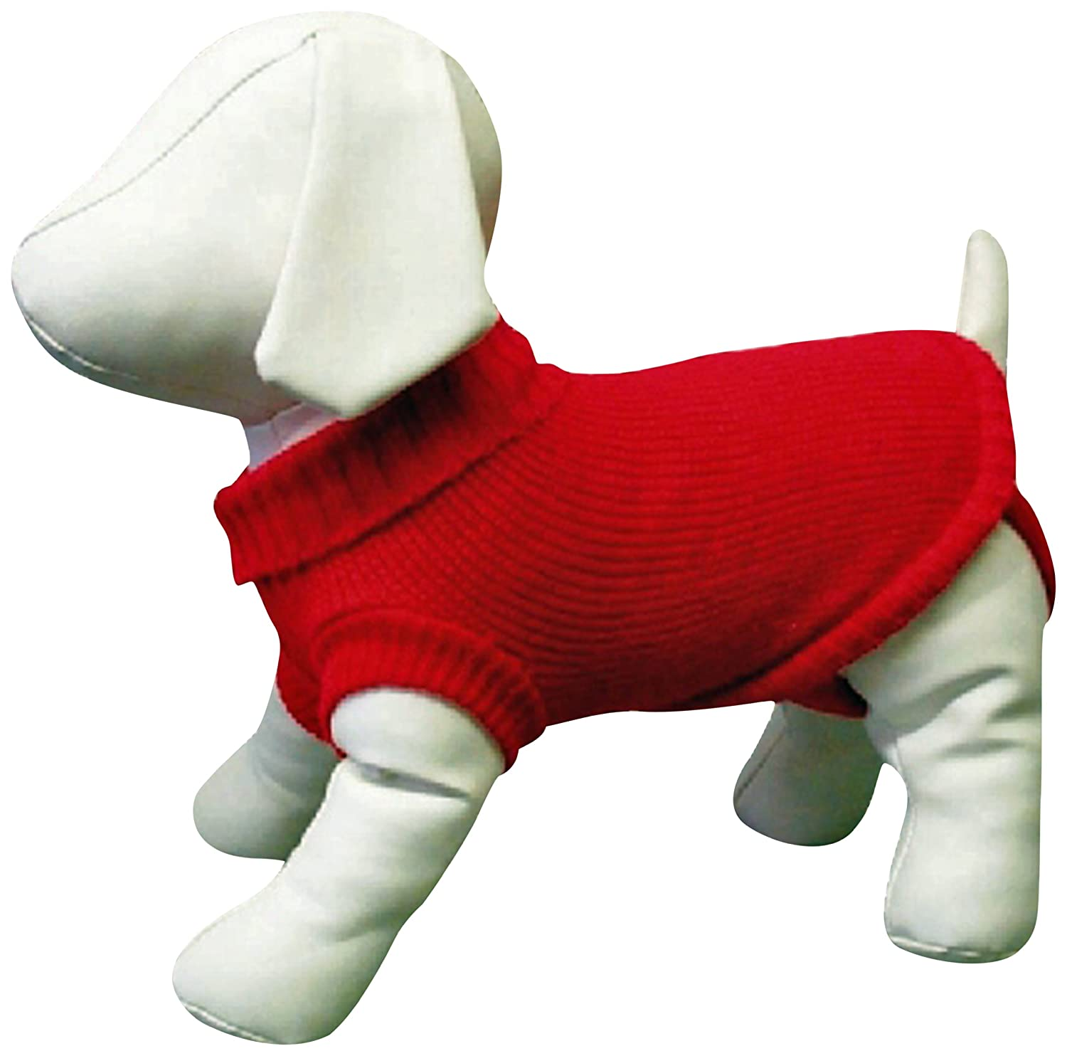 Amazing Pet Products Dog Sweater, 22-Inch, Red