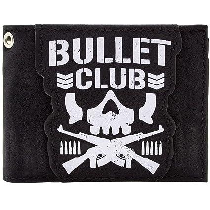 Cartera de Bullet Club Logotipo del cráneo del grupo japonés ...