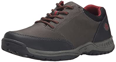 Nunn Bush Drumlin JR Lace up(Little Kid/Big Kid), Charcoal Gray