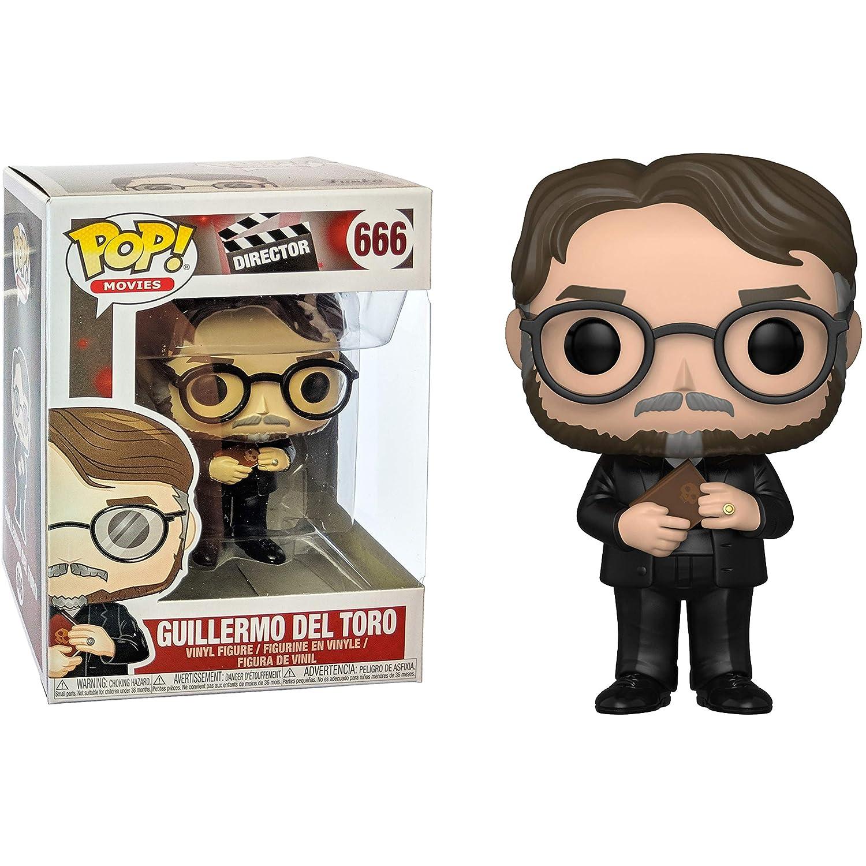 Funko Guillermo Del Toro: x POP Compatible PET Plastic Graphical Protector Bundle Movies Director Vinyl Figure /& 1 POP #666 // 31839 - B