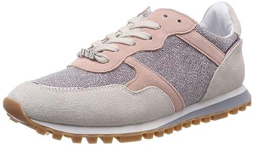 0cfbc26dc36c Liu Jo Jeans Alexa-Running White/Pink, Scarpe da Ginnastica Basse Donna:  MainApps: Amazon.it: Scarpe e borse