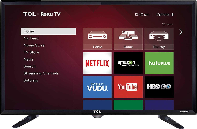 Televisor LED Inteligente TCL 32S3800 de 32 Pulgadas 720p 60 Hz (Roku TV): Amazon.es: Electrónica