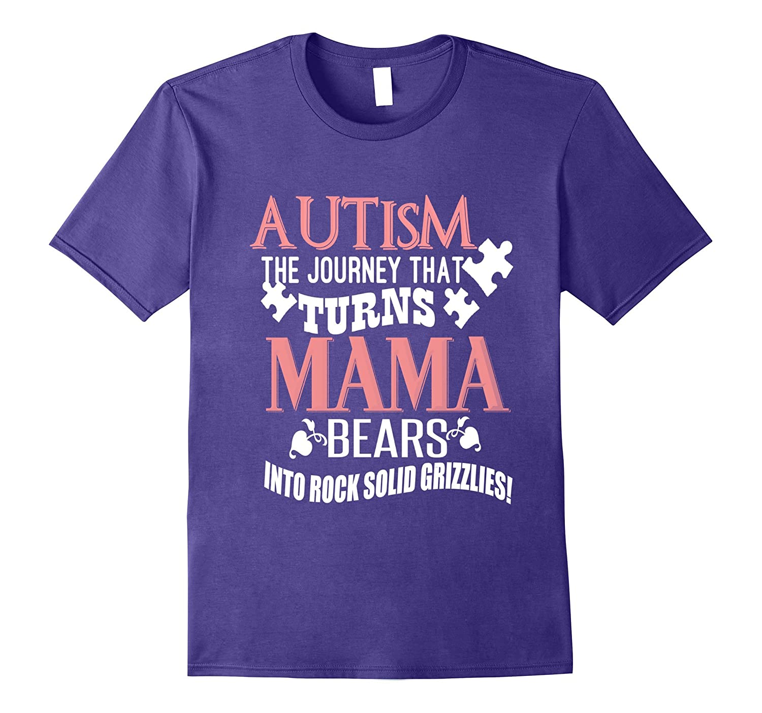Autism Awareness - Autism Mom T-Shirt