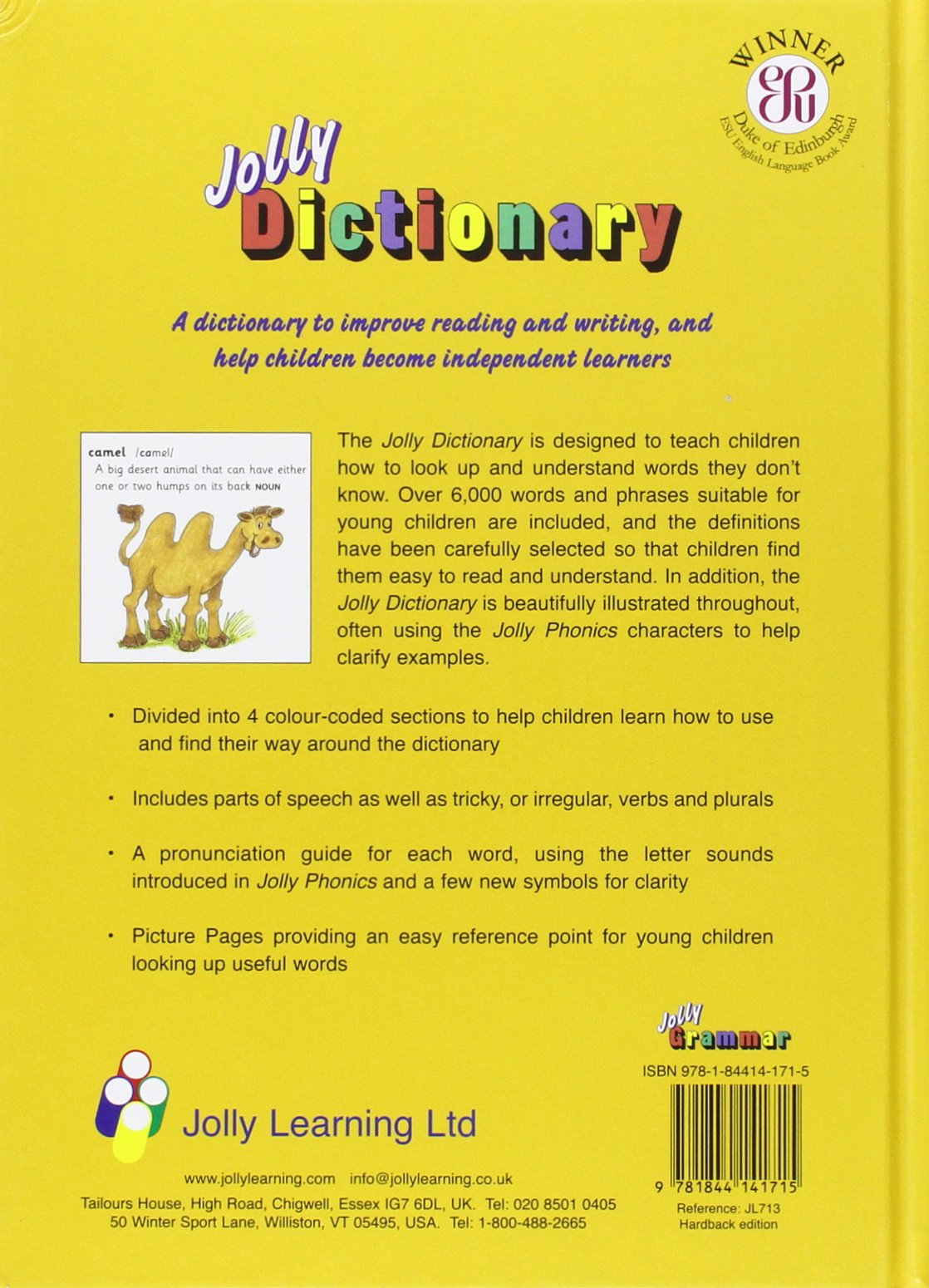 Workbooks jolly phonics workbook 1 free download : Jolly Dictionary (Hardback edition in print letters): American ...