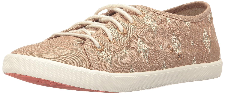 Roxy Women's Memphis Lace up Shoe Fashion Sneaker B01N6CF8I0 6 B(M) US|Tan