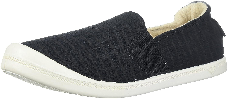 Roxy Women's Palisades Sneaker B078H81YGK 6.5 B(M) US|Black/Grey