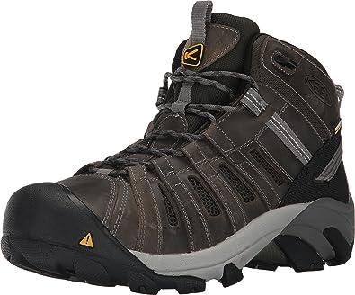 Keen Utility Men's Cody Mid Steel Toe Waterproof Industrial and  Construction Shoe, Gargoyle/Forest