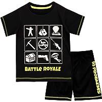 Battle Royale Pijamas de Manga Corta para niños Gaming