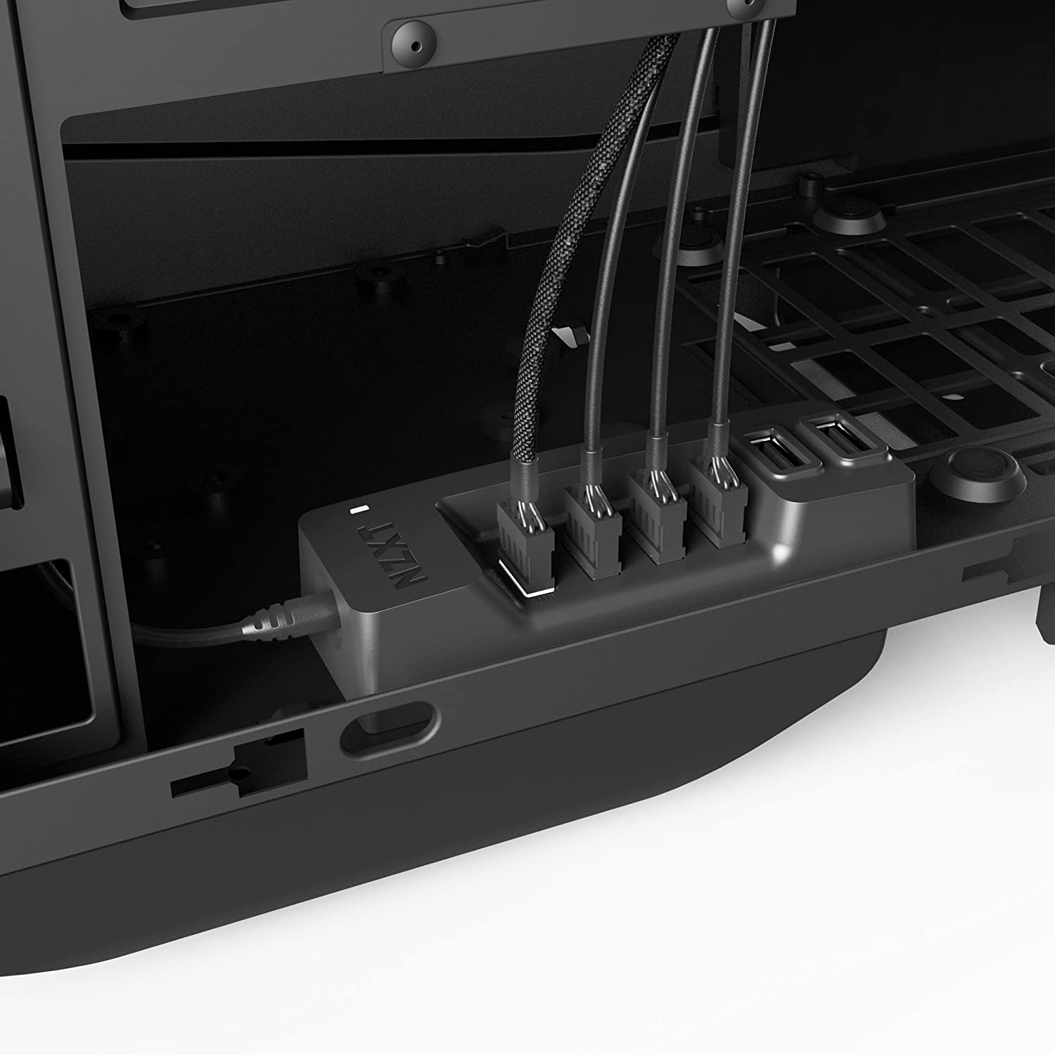 Nzxt Internal Usb Hub Controller Black Ac Iusbh M1 Front Panel Wiring Issue Solved Acer Components Computers Accessories