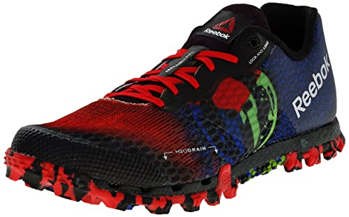 new product 23a73 2efb6 Reebok Men s All Terrain Super 2.0 Tri Trail Running Shoe, Black Excellent  Red