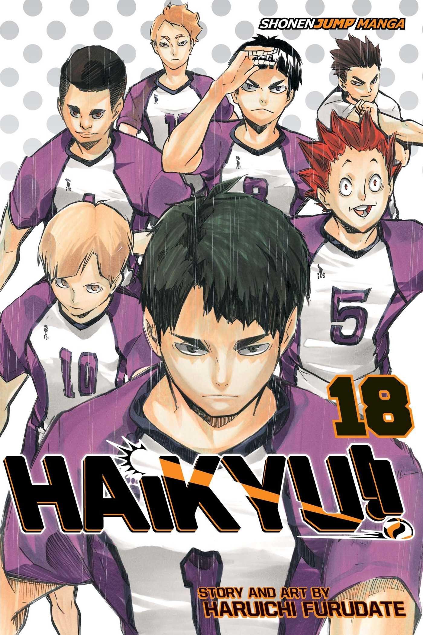 Haikyu!! - Tomo 18 - Haruichi Furudate - Manga ( Ingles)
