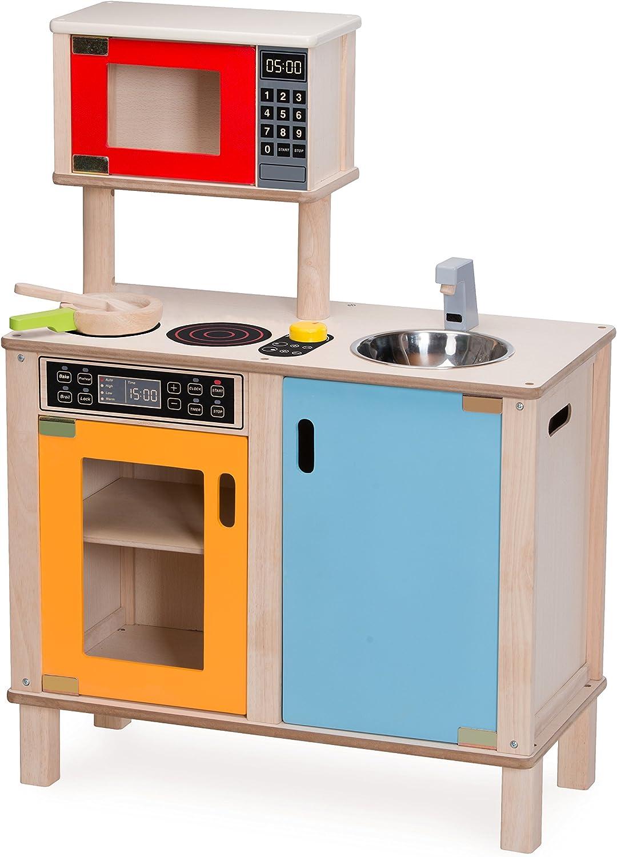wonderworld 3歳から 木製玩具 おままごと ごっこ遊び お店屋さん リトルシェフステーション TYWW4561